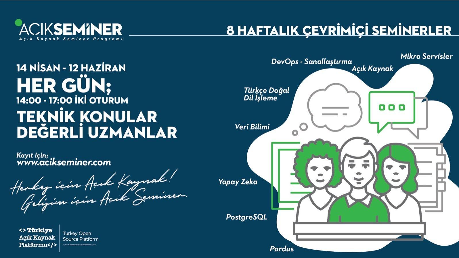 Açık Seminer 30. Gün: Veri Analizi Süreçlerinde TRT'deki DevOps Kültürü