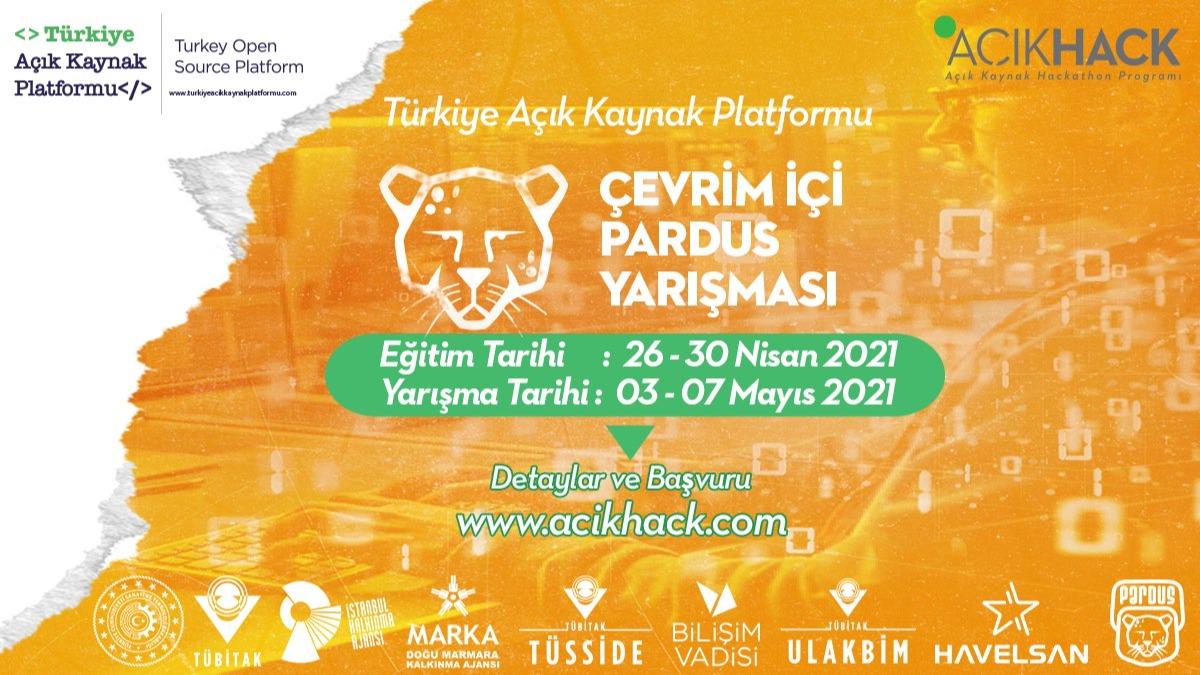 Türkiye Açık Kaynak Platformu Çevrim İçi Pardus Yarışması